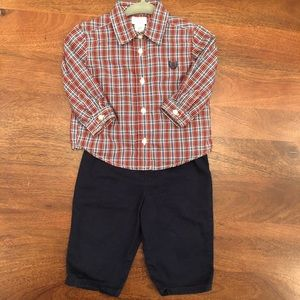 Chaps baby boys set 6 months